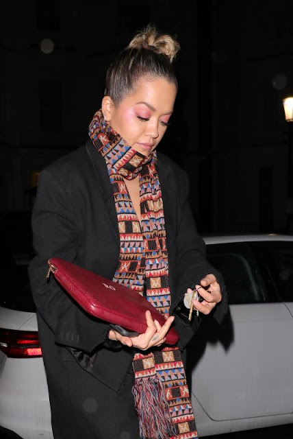 Rita Ora Night Out in London 6 Dec-2019