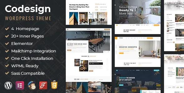 Best Architect & Interior WordPress Theme