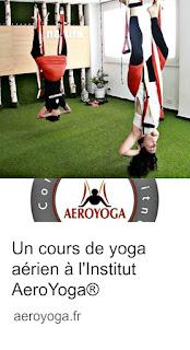 yoga aérien cours
