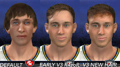 NBA 2K14 Gordon Hayward Face Comparison