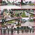 MEMPERINGATI HUT TNI KE 75 YONMARHANLAN LAKSANAKAN KARYA BAKTI DI TAMAN MAKAM PAHLAWAN BUKIT BARISAN
