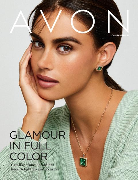 Glamour At Full Color! - AVON Flyer Campaign 8 2021 Online