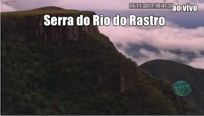 Câmera ao vivo da Serra do Rio do Rastro
