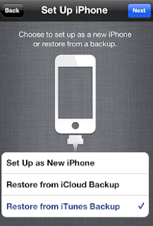 How to transfer data from one iPhone to another using iCloud