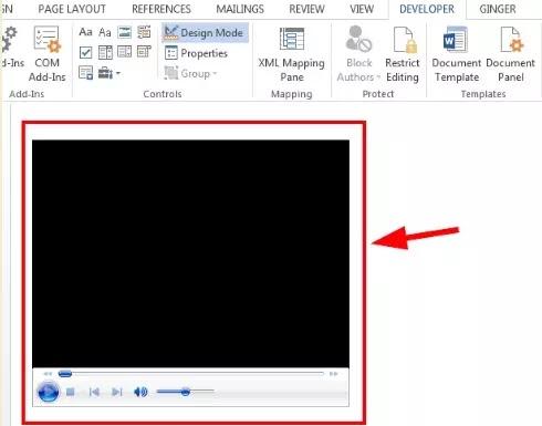 Cara Memasukkan Video ke Microsoft Word-7
