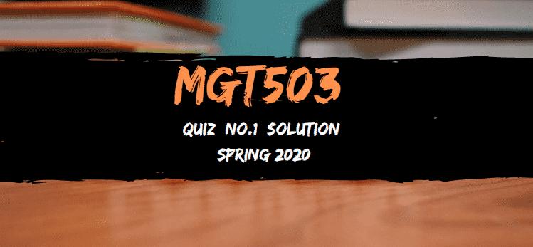 mgt503 quiez