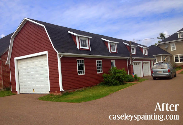 Caseley Painting And Red Barn Life