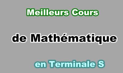 Cours Maths Terminale s Gratuit en PDF