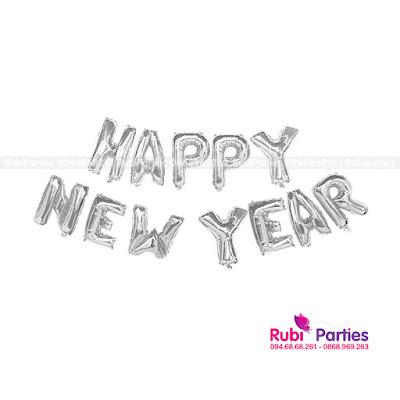 bong chu happy new year mau bac
