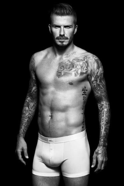 David Beckham na campanha de cuecas da H&M (foto: divulgação)