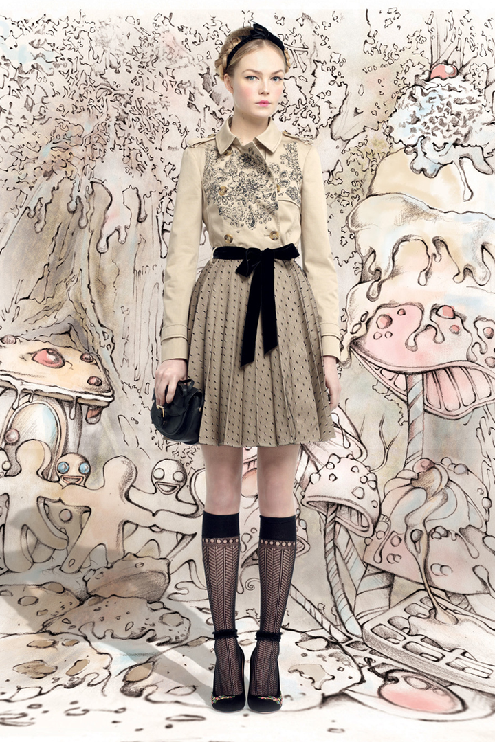 Red Valentino Spring 2016: Charming Collection By RED Valentino // Чаровна колекция