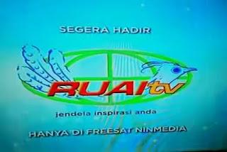 Ruai TV Pindah ke Freesat Ninmedia