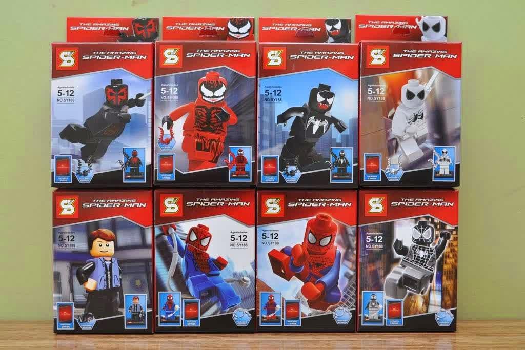 LegoCore: The Lego Watcher: Lego SY Spider-Man Set