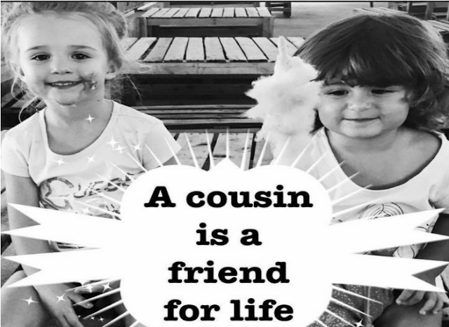 Happy World Cousins Day