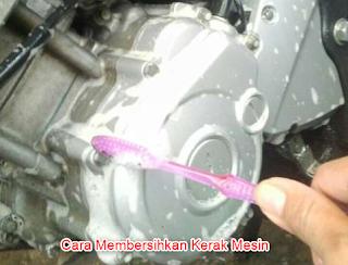 Cara Membersihkan Kerak Mesin Motor