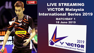 Live Streaming VICTOR Malaysia International Series 2019