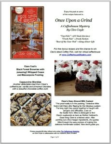 Once Upon a Grind's Free Recipe Guide