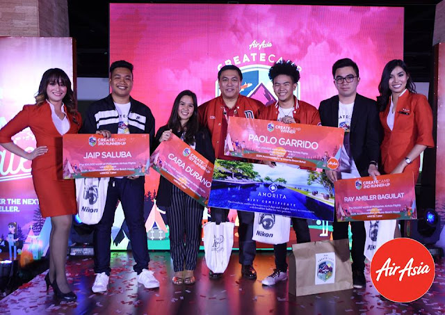 create camp airasia winner