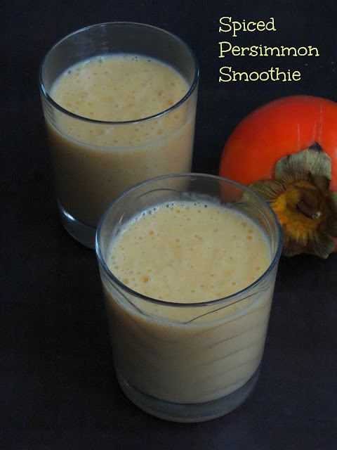Spiced Persimmon Smoothie
