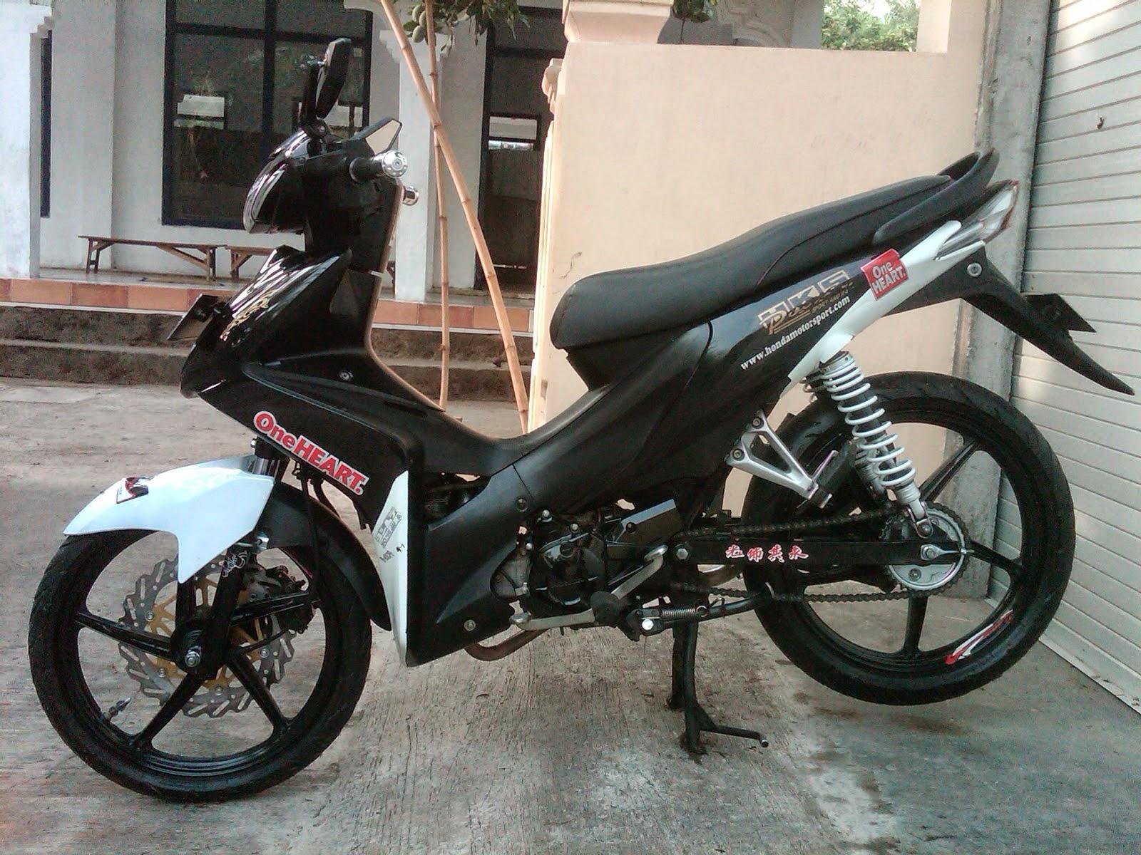 100 Modifikasi Motor Honda Absolut Revo Terbaru Kempoul Motor