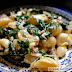 Kale and Sausage Burrata Pasta with Caramelized Onions