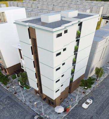 Phối cảnh dự án chung cư mini phố Chùa Láng
