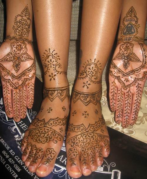 Islam The Key Of Life  Henna