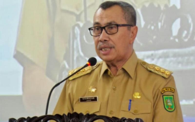 """""""Himbauan Gubernur""""   Terkait Virus Covid-19,  Masyarakat Riau harus Waspada"""