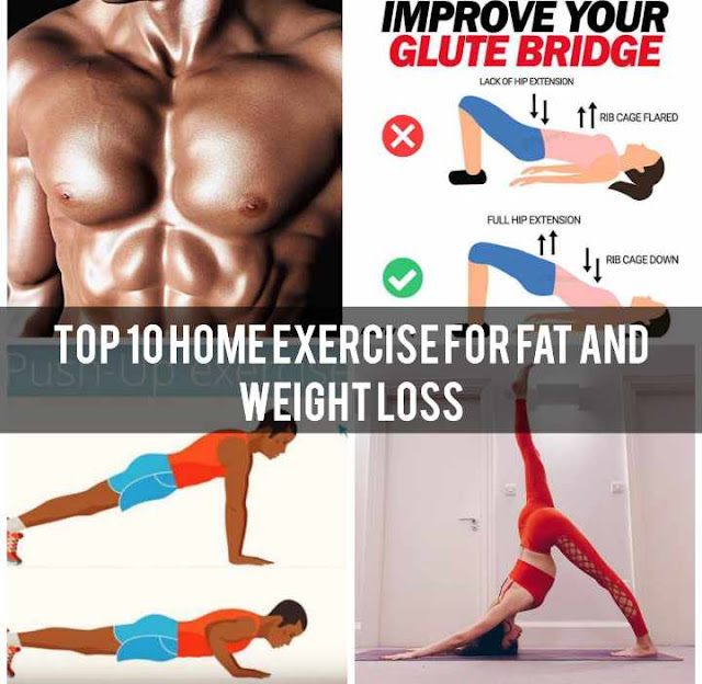 Top 10 home workouts for weight loss