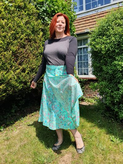 Making a Wrap around skirt