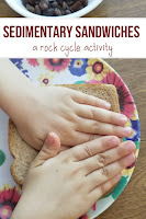 Rock Cycle Activity - Sedimentary Sandwiches