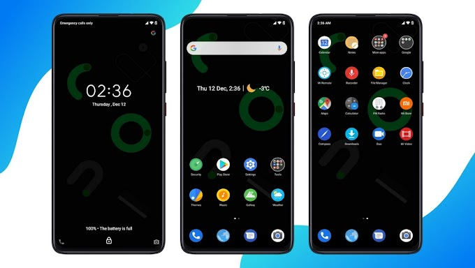 Android 10 Dual Light and Dark MIUI 11 Theme