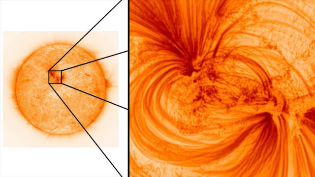 """¡Vean imágenes """"jamás tomadas"""" de la superficie del Sol!"""