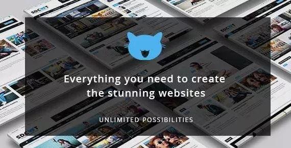 Shadowcat v2.0 - Chủ đề Tin tức và Tạp chí WordPress