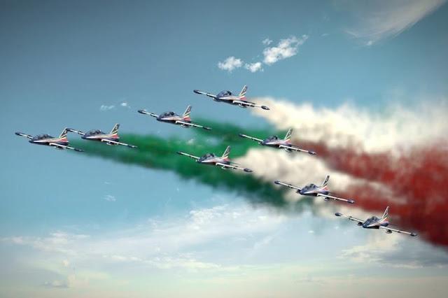 Rinviata la manifestazione aerea di Rivolto per i 60 anni delle Frecce Tricolori