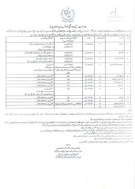 Jobs in Pakistan Bait ul Mal 2020 Advertisement Application Form