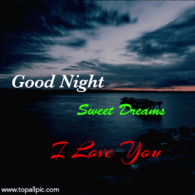 Best good night image with love wishes