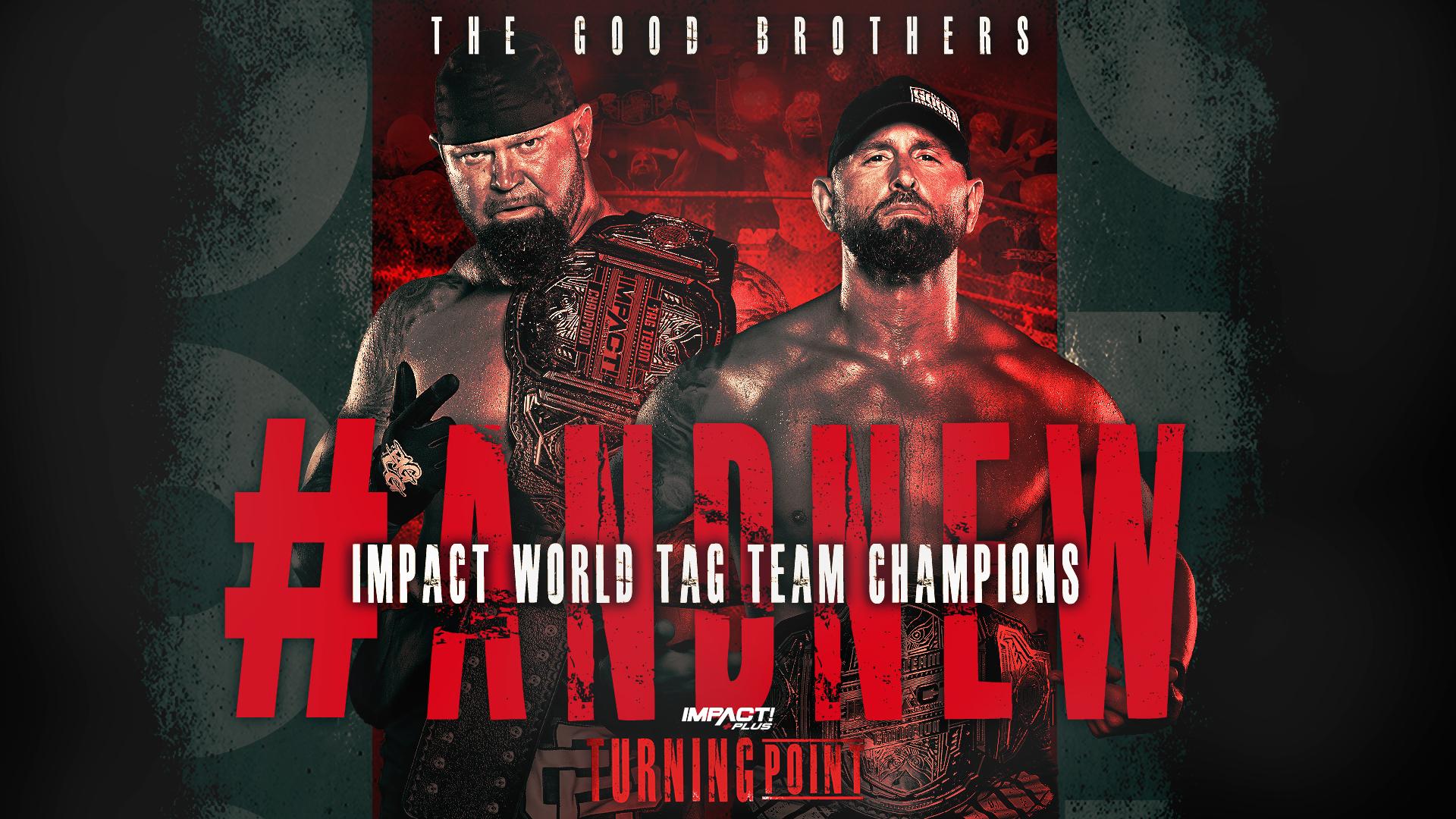Karl Anderson e DOC Gallows conquistam o IMPACT World Tag Team Championship