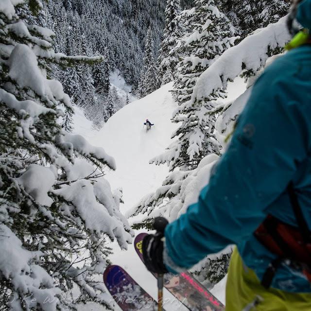 RE Wikstrom snow photography ski