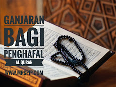 Ganjaran bagi penghafal Al-Quran buat aku CEMBURU sangat
