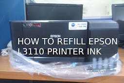 How to Fill the Epson L3110 Printer Ink