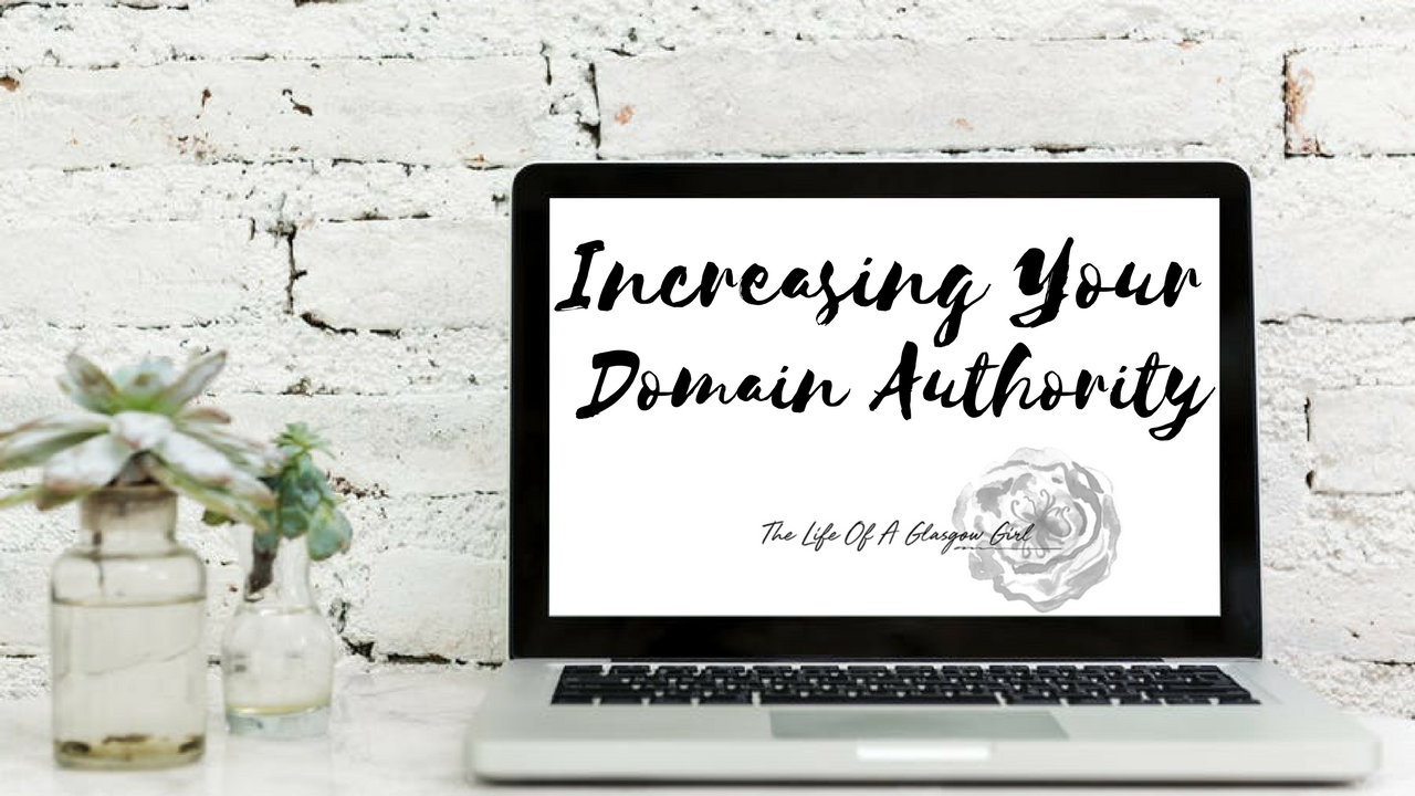Increasing your Domain Authority