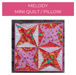 Melody mini and pillow