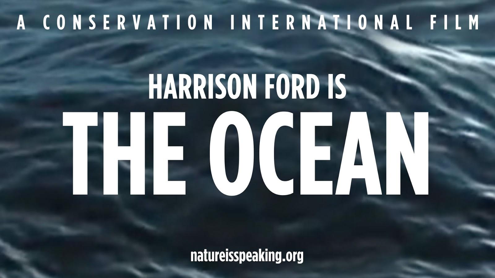 La Naturaleza Nos Habla Harrison Ford es El Océano Conservación Internacional CI