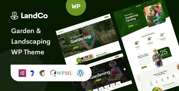 Best Garden and Landscaping WordPress Theme