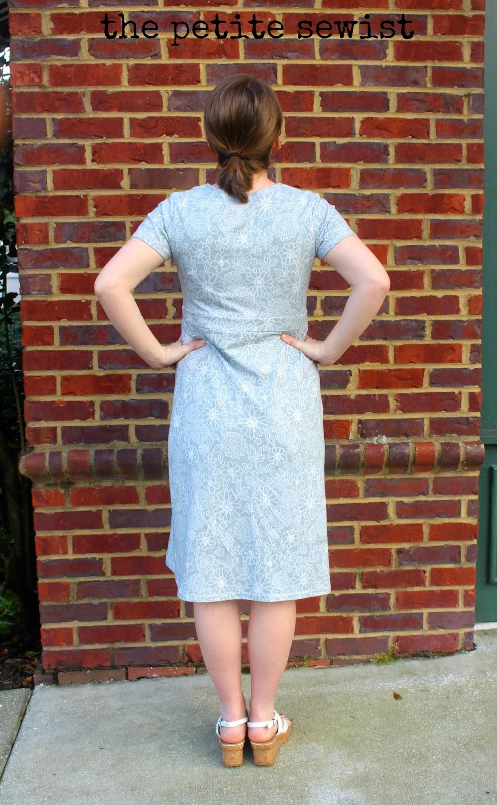 maternity nursing dress sewing pattern