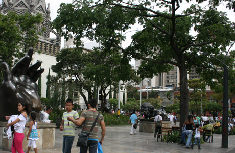 Museo de Antioquia, Plaza Botero, Medellín, Colombia