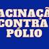 Dia Mundial de Combate à Poliomielite é comemorado neste sábado e SES reforça importância da vacinação.