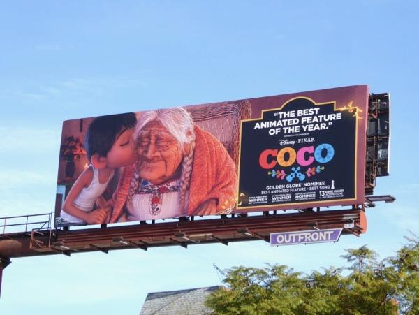 Coco awards consideration billboard