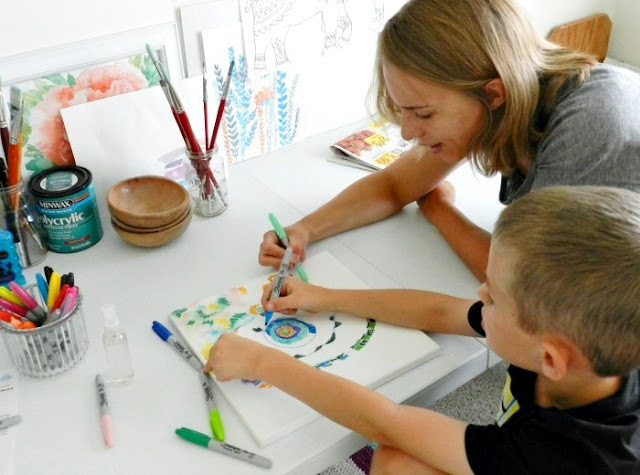 Kids Art Tutorials from Grow Creative Blog